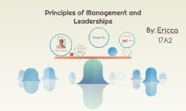 Principles of Management and Leaderships