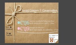 Social Science & Conservation