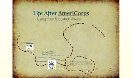 Using Your AmeriCorps Education Award
