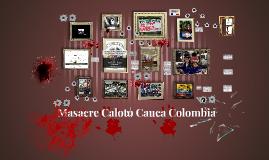 Masacre Caloto Cauca Colombia
