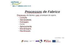 Processos de Fabricação 02
