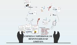 EMPRESA UNIPERSONAL DE RESPONSABILIDAD LIMITADA