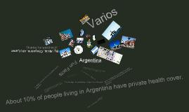 Presentación de Argentina
