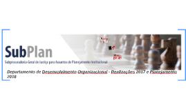 Departamento de Desenvolvimento Organizacional - Balanço 201