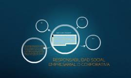 Responsabilidad Social Corporativa.