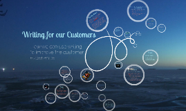 Writing For Our Customers