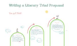 Writing a Triad Proposal