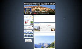FRENCH CULTURE & CUISINE PROJECT