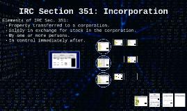 IRC Section 351 Illustration