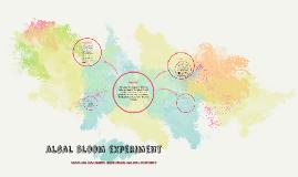 Algal Bloom Experiment