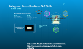 College & Career Readiness: Soft Skills