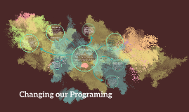 Changing our Programing