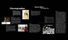 Copy of Dance Career Assignment