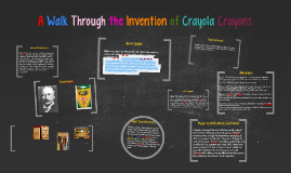 A Walk Through the Invention of Crayola Crayons