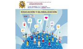 EDUCACIÓN Y GLOBALIZACIÓN