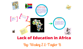 Copy of Lack of Education in Africa
