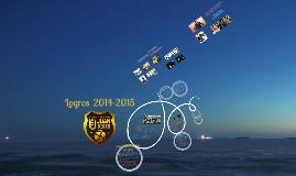Logros 2014-15