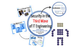 Security in the Third Wave of IT Engineering
