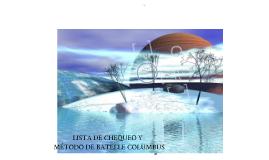 LISTA DE CHEQUEO & METODO DE BATELLE COLOMBUS