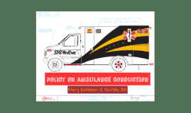 Copy of Policy on Ambulance Conduction