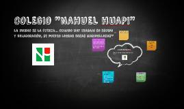 """COLEGIO """"NAHUEL hUAPI"""""""