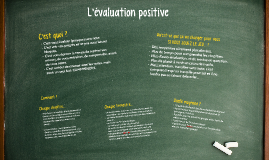Élèves - L'évaluation positive en mathématiques