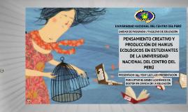 PENSAMIENTO CREATIVO Y PRODUCCIÓN DE HAIKUS ECOLÓGICOS