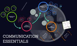 Copy of COMMUNICATION ESSENTIALS