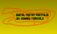 Digital Poetry Portfolio