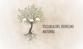 ESCUELA DEL DERECHO NATURAL