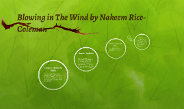 Blowing in The Wind by Nakeem Rice-Coleman