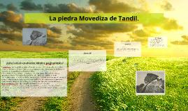La piedra Movediza de Tandil.