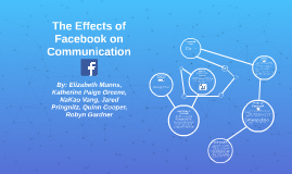 Communications and Facebook