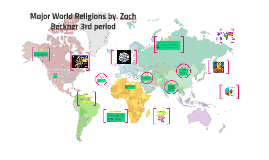 Major World Religions by. Zach Beckner 3rd period