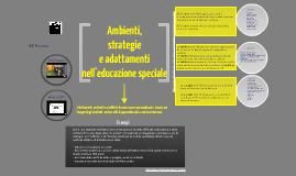 Ambienti, strategie e modifiche nell'educazione speciale - Argomento 2