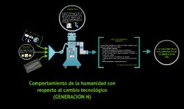 Comportamiento de la humanidad con respecto al cambio tecnol