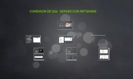 CONEXION DE SQL  SERVER CON