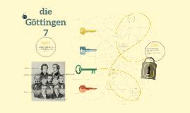 die Göttingen 7