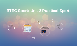 Copy of BTEC Sport: Unit 9 Practical Individual Sport