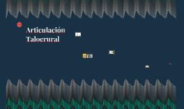 Articulación Talocrural