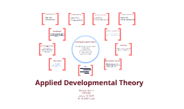 Applied Developmental Theory