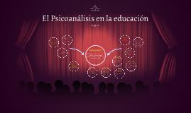 El Psicoanálisis en la educación
