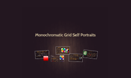Copy of Monochromatic Grid Self Portraits