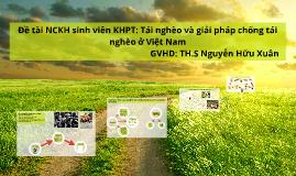 Copy of Đề tài NCKH sinh viên KHPT: Tái nghèo và giải pháp chống tái