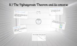 geomtery 8.1 The Pythagorean Theorem