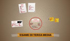 Copy of ESAME DI TERZA MEDIA
