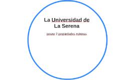 La Universidad de La Serena
