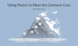 Copy of Using Poetry to Meet the Common Core