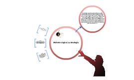 Método lógico; la analogia