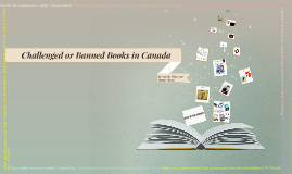 Challenged or Banned Books in Canada